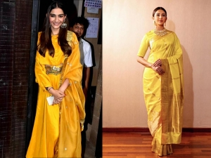 Yellow Outfits From Bollywood Divas For Navratri