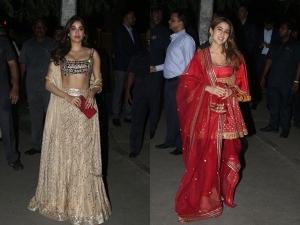 Sara Ali Khan And Other Star Kids At A Diwali Bash