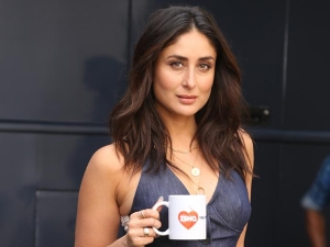 Kareena Kapoor Khan In Denim Look For The Radio Show What Women Want