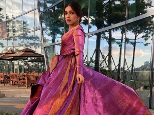 Bhumi Pednekar In A Dramatic Gown At Biff For Dolly Kitty Aur Woh Chamakte Sitare Premiere