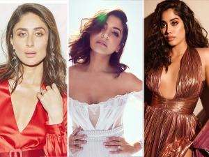 Kareena Kapoor Khan Anushka Sharma And Janhvi Kapoor In Gowns At Elle Beauty Awards