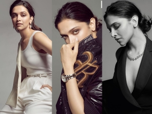 Deepika Padukone In Casual Outfits For Harper S Bazaar India October Issue Covershoot