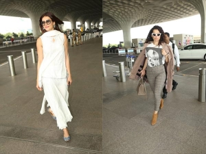 Latest Airport Looks Of Sania Mirza Kangana Ranaut And More