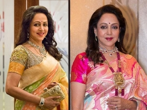 Five Sari Looks Of Dream Girl Hema Malini On Her Birthday