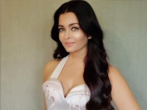 Aishwarya Rai Bachchan In An Ivory Gown For A Brand Event In Rome