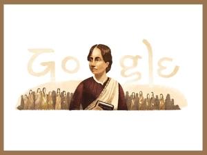 Google Doodle Celebrates 155th Birth Anniversary Of Indian Reformist Feminist Kamini Roy