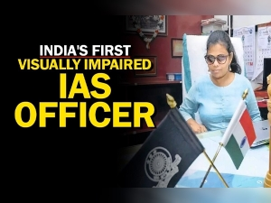 Pranjal Patil First Blind Woman Ias Officer Takes Over As Sub Collector At Thiruvananthpuram