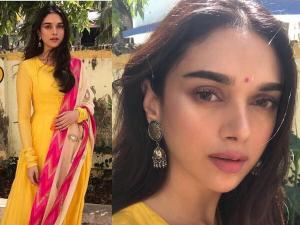 Navratri Make Up Look For Yellow Dress