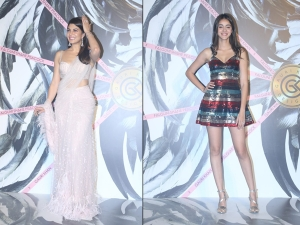 Jacqueline Fernandez Gauri Khan And Other Divas At Falguni Shane Peacock Store Launch