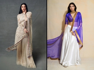 Motichoor Chaknachoor Actress Athiya Shetty S Traditional Outfits