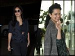 Katrina Kaif Kangana Ranaut And Other Divas Flaunt Latest Airport Outfits