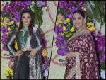 Raveena Tandon Madhuri Dixit And Other Divas In Traditional Outfits