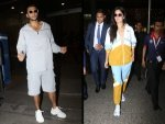 Ranveer Singh And Katrina Kaif S Airport Outfits