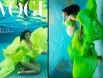 Alia Bhatt And Sameera Reddy Underwater Photoshoot