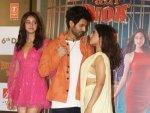 Ananya Panday Bhumi Pednekar And Kartik Aaryan S Outfits At Pati Patni Aur Woh Trailer Launch