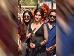 Kriti Sanon In A Rohit Bal Anarkali For Panipat Promotions