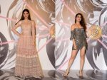 Diana Penty And Other Divas At Falguni Shane Peacock Flagship Store