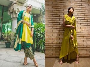 Samantha Akkineni And Genelia Deshmukh In Stunning Outfits