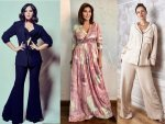 Richa Chadha Lisa Ray Kalki Koechlin In Formal Outfits