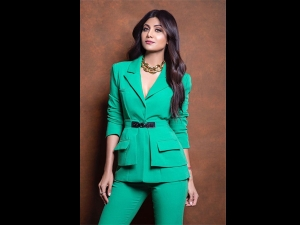 Shilpa Shetty Kundra Slays It In A Classy Pantsuit