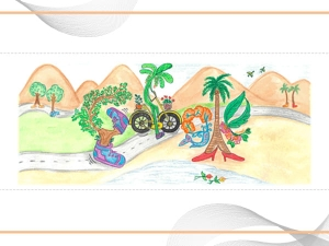 Childrens Day Google Doodle Walking Tree To Create Awareness About Deforestation