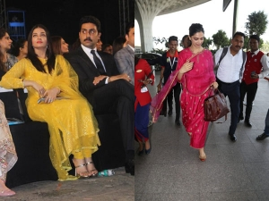 Aishwarya Rai Bachchan And Deepika Padukone In Vibrant Salwar Suits