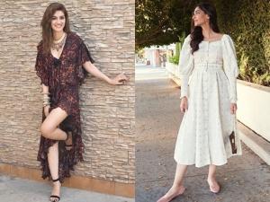Kriti Sanon Sonam Kapoor Ahuja And Other Divas In Dresses