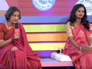 Lavanya Nalli And Pavithra Muddaya In Conversation With Prasad Bidapa At We The Women