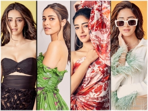Ananya Panday S Outfits For Pati Patni Aur Woh Promotions