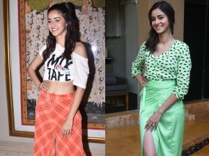 Ananya Panday S Latest Outfits For Pati Patni Aur Woh Promotions
