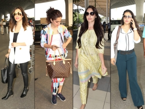Nora Fatehi Taapsee Pannu Kajol And Sophie Choudry S Latest Airport Looks
