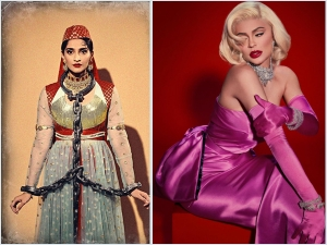 Sonam Kapoor Ahuja As Madhubala And Kylie Jenner As Marilyn Monroe On Halloween