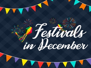 Festivals And Events In December 2019 In India