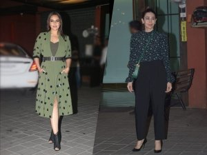 Sonakshi Sinha, Karisma Kapoor, And Other Divas Flaunt Party Outfits At This Party