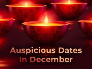 December 2019: 12 Auspicious Dates That You May Not Be Knowing