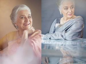 Asha Parekh Stuns In Sari At Her Verve Magazine Interview