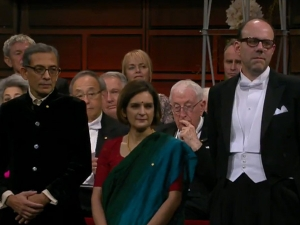 Nobel Prize Winners Abhijit Banerjee And Esther Duflo Stun