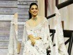 Kiara Advani In A White Attire For Blenders Pride Fashion Tour