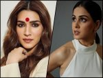 Kriti Sanon In Flared Kurta Palazzo Pants And Genelia Deshmukh In Jumpsuit