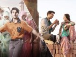 Nushrat Bharucha Rajkummar Rao And Ranveer Singh S Casual Outfits In Film Posters