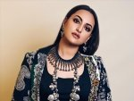 Sonakshi Sinha In A Printed Frill Skirt And Cape For Dabangg 3 Promotions