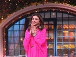 Deepika Padukone In A Pink Ensemble For Chhapaak Promotion At Kapil Sharma Show