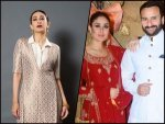 Kareena Kapoor Khan And Karisma Kapoor In Ethereal Outfits For Armaan Jain S Engagement