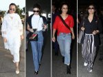 Recent Airport Look Of Kajol Shraddha Kapoor Jacqueline Fernandez And Sonakshi Sinha