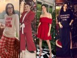 Karisma Kapoor Ananya Panday And Other Divas Give Outfits Ideas For Christmas Day