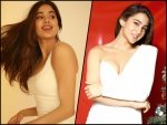 Sara Ali Khan And Janhvi Kapoor Give Fashion Goals For New Year Bash With White Dresses