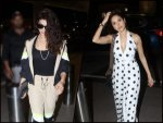 Jacqueline Fernandez And Nushrat Bharucha S Airport Looks