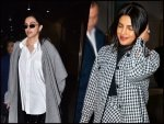 Deepika Padukone And Priyanka Chopra Jonas Spotted In Winter Wear