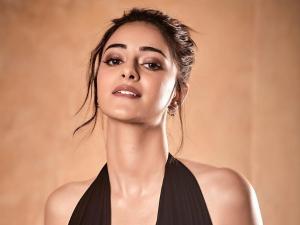 Ananya Panday In A Bronzed Make Up Look At Star Screen Awards