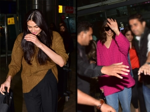 Athiya Shetty And Deepika Padukone S Airport Looks